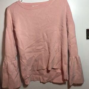 Bell sleeved Zara sweater
